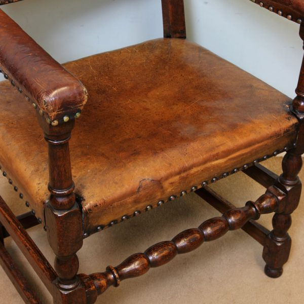 Antique Set 8 Country Dining Chairs,