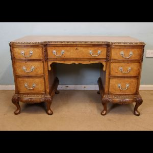 Antique Burr Walnut Dressing Table,