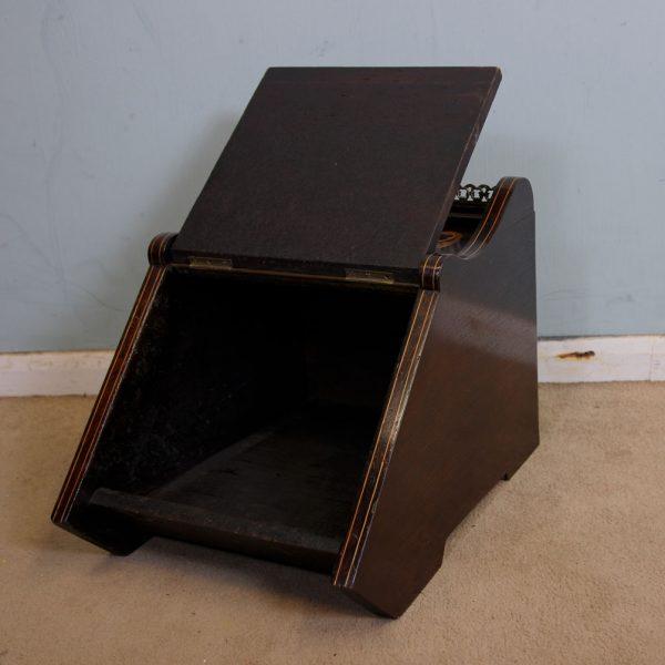 Antique Coal Box Scuttle.