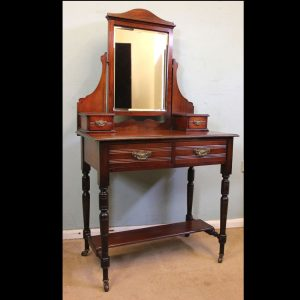 Antique Walnut Small Dressing Table