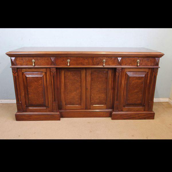 Quality Antique Mahogany Sideboard Dresser Base