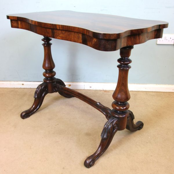 Antique Rosewood Side Table.