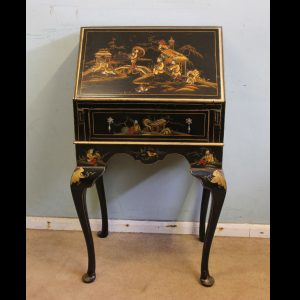 Antique Chinoiserie Writing Desk Burea
